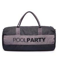 Спортивная сумка POOLPARTY 10 л (poolparty-gymbag-black-grey)