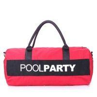 Спортивная сумка POOLPARTY 10 л (poolparty-gymbag-red-black)