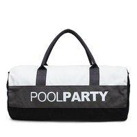Спортивная сумка POOLPARTY 10 л (poolparty-gymbag-white-grey-black)