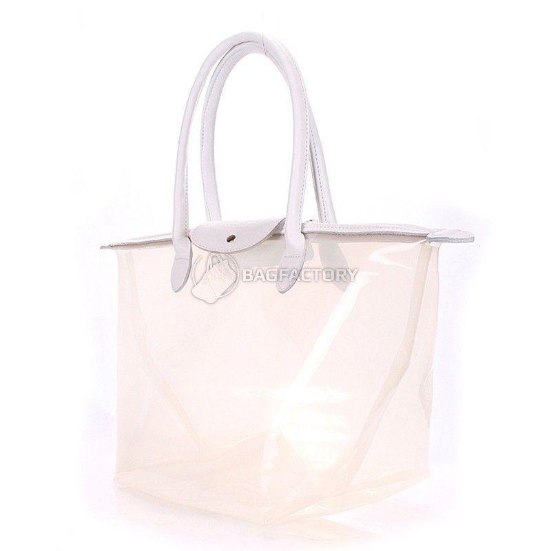 516e4e1c931d Женская прозрачная сумка POOLPARTY Kelly (pool-80-kelly-white ...