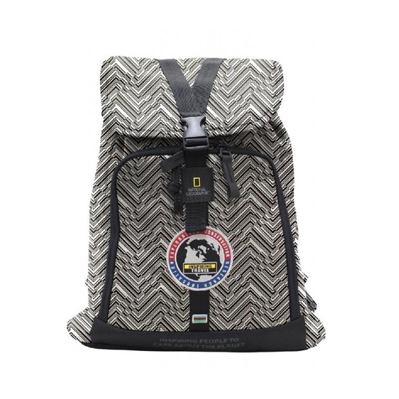 50589ffc85ed Городской рюкзак NATIONAL GEOGRAPHIC Explorer 18 л Черно-белый (N01119;74)