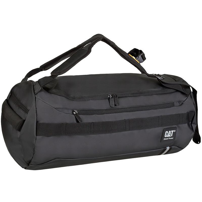 7dffb63079f9 Практичная дорожно-спортивная сумка-рюкзак CAT Tarp Power (83464;01).  Изготовлена из прочного материала тарпаулин, который легко очищается и  обладает ...