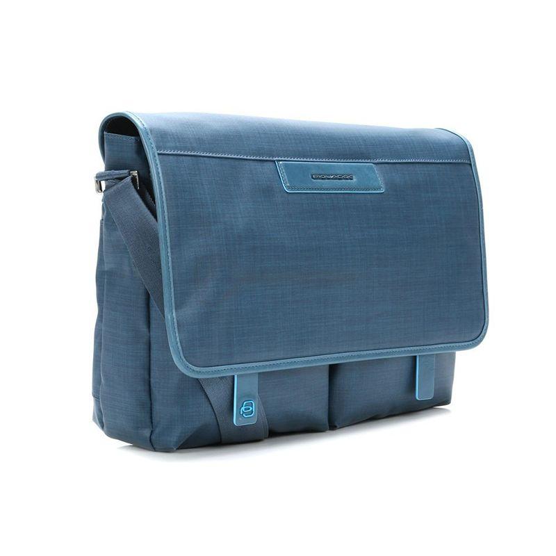 b13bd1c8109bb ... Мужская сумка Piquadro AKI Blue с чехлом д/ноутбука/iPad/iPad Air (.  Код: 7508