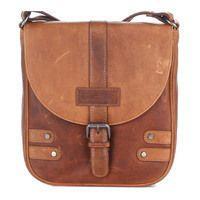09b90df0b67f Мужская кожаная сумка HILL BURRY Коричневый (3100_brown) - купить ...
