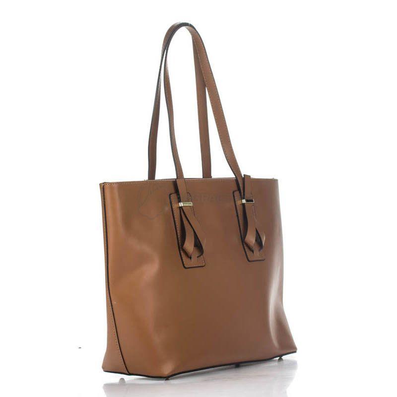 34c7c41e3bc7 Женская кожаная сумка Italian bags Коньячный (7739_cuoio) - купить ...