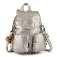 Городской рюкзак Kipling FIREFLY UP Metallic Pewter 7.5л (K23512_L34)