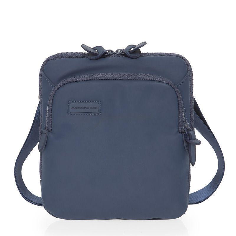 becb7cee9862 Мужская наплечная сумка Mandarina Duck TOUCHDUCK Insignia Blue (MdPVT18-13
