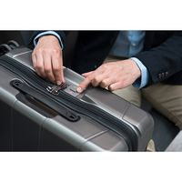 Чемодан на 4 колесах Victorinox Travel LEXICON Black S с USB 34л (Vt602103)