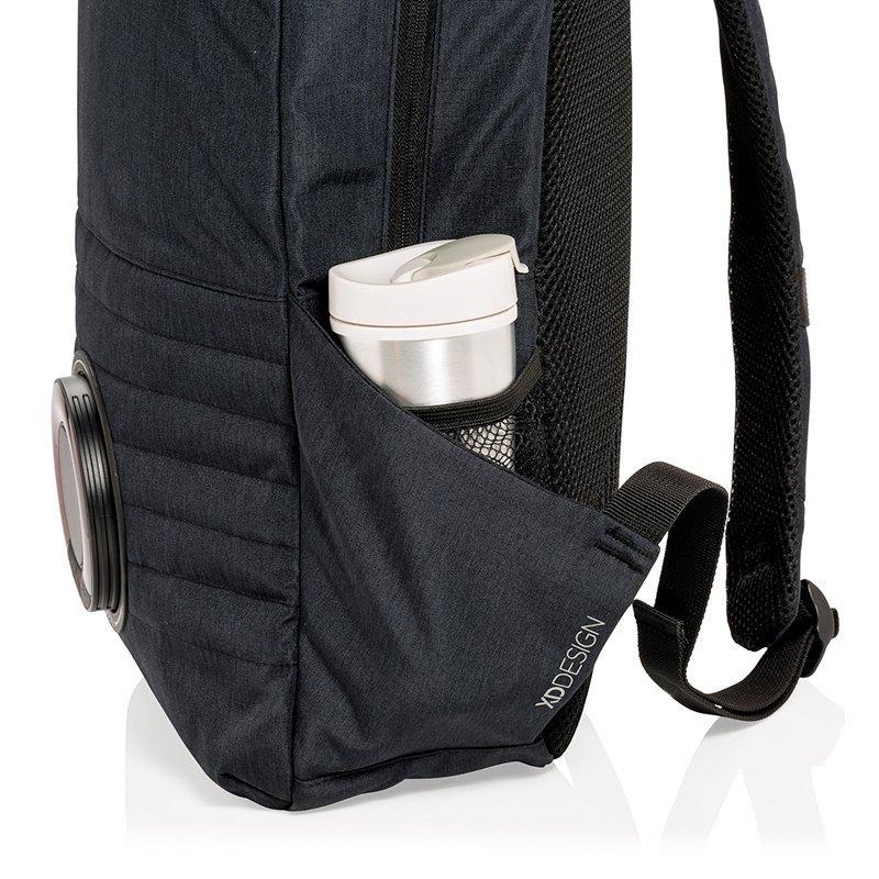 09fd4769034c ... рюкзак XD Design Party Music Backpack Черный 20л (P750.621). Код: 11968