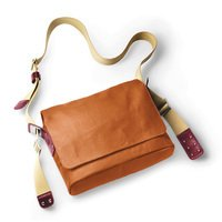 Мужская наплечная сумка BROOKS PADDINGTON Shoulder Bag Goose Beak/Maroon 10л (006238)