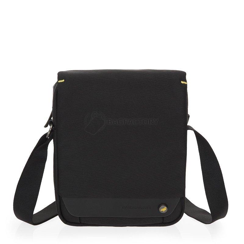 f2d8abbc2684 Мужская наплечная сумка Mandarina Duck MR DUCK Black (MdSTT04-651) 80773