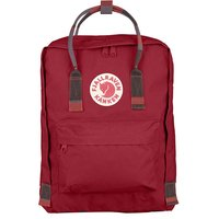 Городской рюкзак Fjallraven Kanken Deep Red-Random Blocked 16л (23510.325-915)