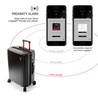 Чемодан Heys Smart Connected Luggage M 70л Black (925227)