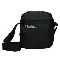 f97177555eca Мужская сумка через плечо National Geographic Transform Черный + RFID  карман (N13204;06)