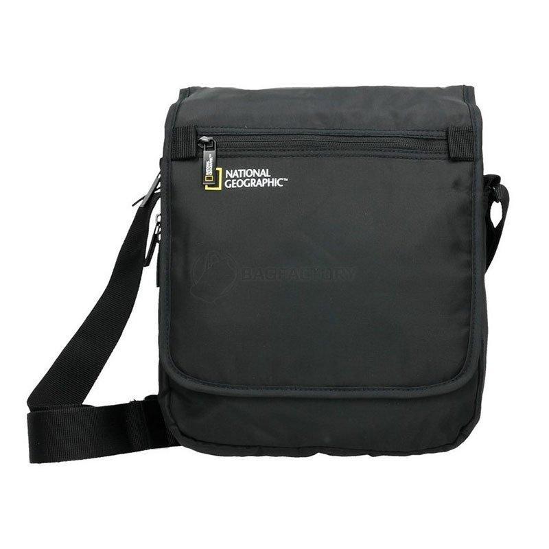 c2aa8665de50 Мужская сумка через плечо National Geographic Transform Черный + ...