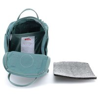 Городской рюкзак Fjallraven Kanken Mini Frost Green 7л (23561.664)