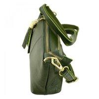 a3c1e41f3d59 Женская кожаная сумка TRAUM Темно-зеленый (7320-27) - купить Киев ...