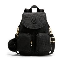 Городской рюкзак Kipling FIREFLY UP Black Pylon Emb 7.5л (K23512_47K)
