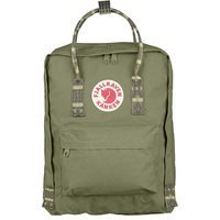 Городской рюкзак Fjallraven Kanken Green-Folk Pattern 16л (23510.620-913)