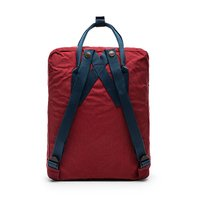 Городской рюкзак Fjallraven Kanken Ox Red-Royal Blue 16л (23510.326-540)