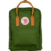 Городской рюкзак Fjallraven Kanken Leaf Green-Burnt Orange 16л (23510.615-212)