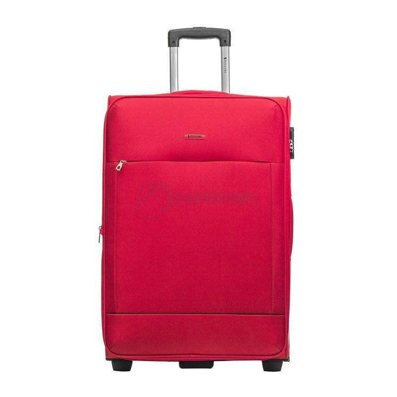 0d51c52751f0 Большой, вместительный чемодан на 2-х колесах Puccini Verona 5044  изготовлен из высококачественного полиэстера, стойкого к повреждениям и  легко поддающемуся ...