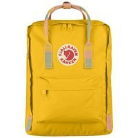 Городской рюкзак Fjallraven Kanken Warm Yellow-Random Blocked 16л (23510.141-905)