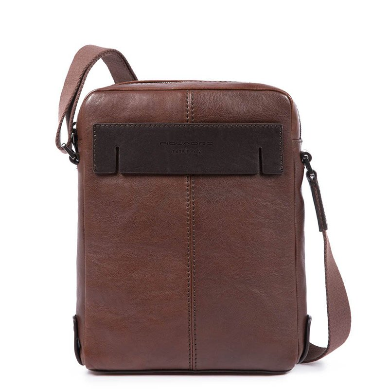 870f61f97f8f Мужская кожаная сумка Piquadro PYRAMID Brown с отдел. д/iPad ...