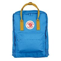 Городской рюкзак Fjallraven Kanken Un Blue-Warm Yellow 16л (23510.525-141)