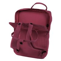 Городской рюкзак Fjallraven Kanken Laptop 15 Deep Red Random Blocked 18л (27172.325-915)