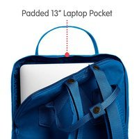 Городской рюкзак Fjallraven Kanken Laptop 13 Lake Blue 13л (27171.539)