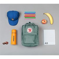 Городской рюкзак Fjallraven Kanken Mini Royal Blue - Ox Red 7л (23561.540-326)