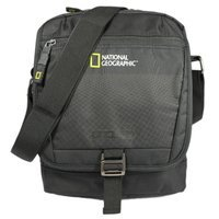 5b1a0077a66e Мужская сумка National Geographic Trail с RFID защитой Черный (N13405;06)