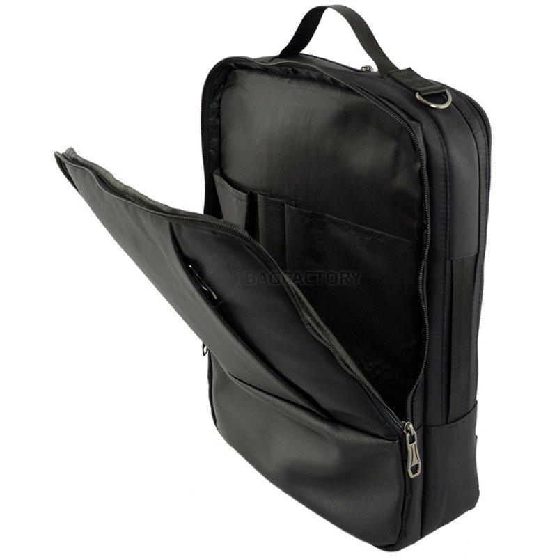 8d0e6a56fba8 Сумка-рюкзак для ноутбука Traum Черный 7л (7176-10) - купить Киев ...