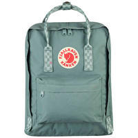 Городской рюкзак Fjallraven Kanken Frost Green-Chess Pattern 16л (23510.664-904)