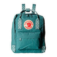 Городской рюкзак Fjallraven Kanken Mini Frost Green-Chess Pattern 7л (23561.664-904)