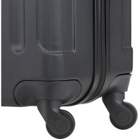 Чемодан TravelZ Light M Black (927239)
