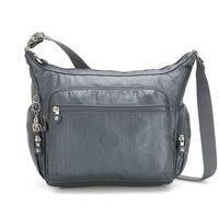 Женская сумка Kipling Basic Plus Gabbie Steel Gr Metal 12л (K22621_H55)