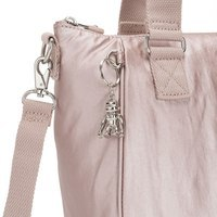 Женская сумка Kipling Basic Plus Amiel Metallic Rose 10л (K16616_G45)
