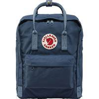 Городской рюкзак Fjallraven Kanken Royal Blue-Goose Eye 16л (23510.540-908)