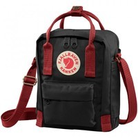 Наплечная сумка Fjallraven Kanken Sling Black-Ox Red (23797.550-326)