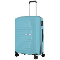 Чемодан на 4 колесах Travelite Nubis Light Blue M exp. (TL076148-25)
