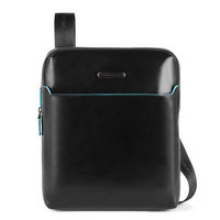 Мужская сумка Piquadro Blue Square Black с отд. для iPad (CA5085B2_N)