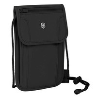 Сумка на шею Victorinox Travel Travel Accessories 5.0 Deluxe Black с RFID защитой (Vt610603)